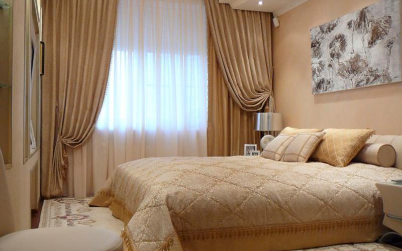 Как подобрать дизайн штор для спальной комнаты?