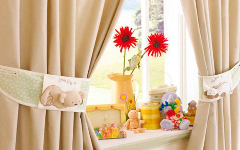 Шторы в детскую – выбираем шторы правильно