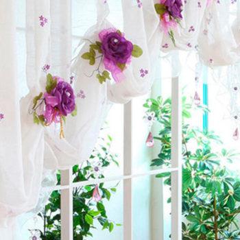 украшаем шторы
