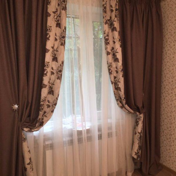 шторы комбинированные