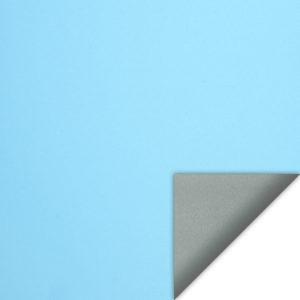 светоотражающие голубые роллшторы