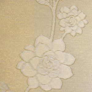 золотые роллшторы с цветами