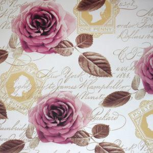 ролл шторы с розами