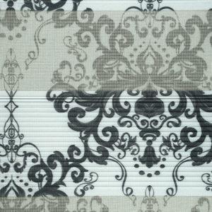 ролл-шторы зебра день ночь с роскошным рисунком