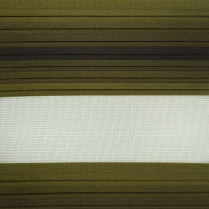 ролл-шторы зебра гофрированные, темно оливковые
