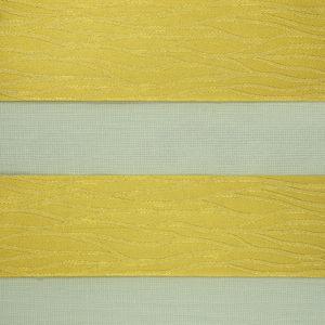 желтые фактурные роллшторы зебра
