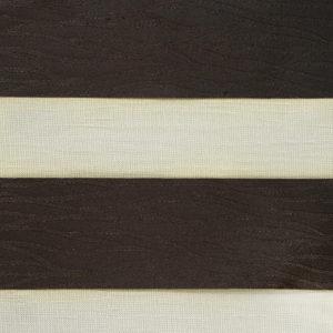 фактурные коричневые роллшторы зебра