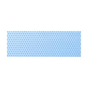 жалюзи перфорированные голубой
