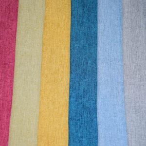 стильные яркие шторы из льна