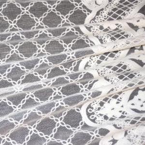 шторы тюль сетка с вышивкой