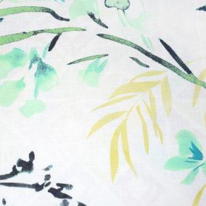 красивые шторы с рисунком зеленый, бирюза