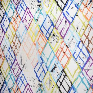 шторы с рисунком разноцветные