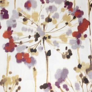 шторы портьеры лен с цветочным рисунком