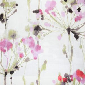 красивые шторы с цветочным рисунком
