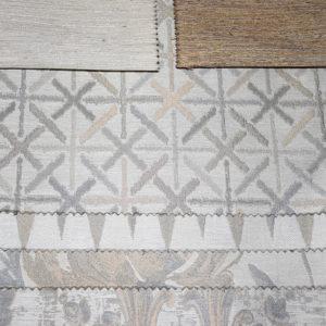 стильные шторы льняные этно