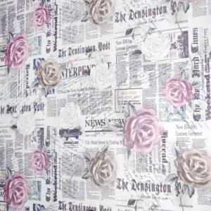 стильные шторы с розами
