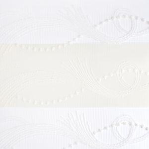 """Ролл-шторы """"Зебра"""" (день-ночь). Арт. OZB 12077-600 Белый. Новая коллекция"""
