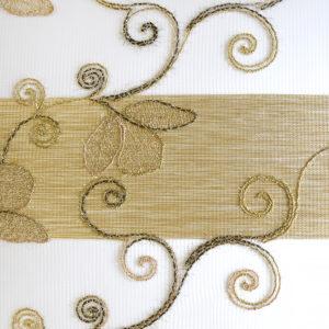 Ролл шторы зебра новинка. С цветочным рисунком