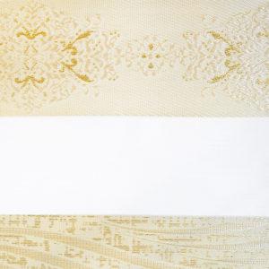 Ролл шторы зебра с люрексом