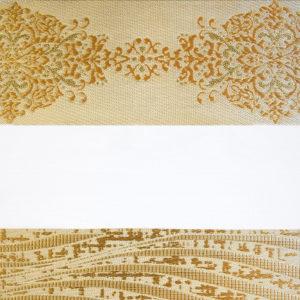 Ролл шторы зебра золотистые