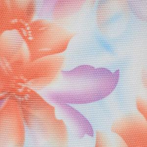 Жалюзи с цветами вертикальные тканевые. Арт. 11