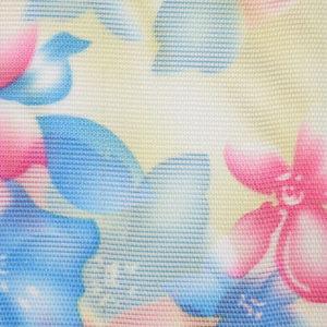 Жалюзи с цветами вертикальные тканевые. Арт. 12