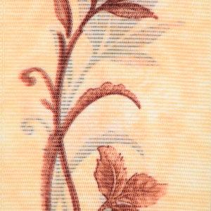 Жалюзи с цветочным рисунком вертикальные тканевые. Арт. 1601