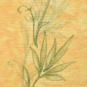 Жалюзи с рисунком листья вертикальные тканевые. Арт. 1608
