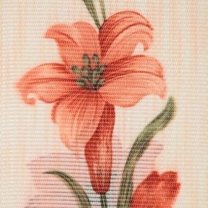 Жалюзи с цветами вертикальные тканевые. Арт. 1701