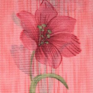 Жалюзи с цветами вертикальные тканевые. Арт. 1707
