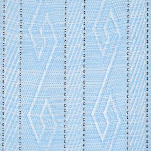 Голубые Жалюзи вертикальные тканевые. Арт. 4046