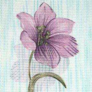 Жалюзи с цветами Арт. 1708
