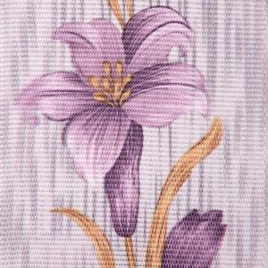 Жалюзи с цветами вертикальные тканевые. Арт. 1711