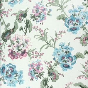 портьеры лен с цветами