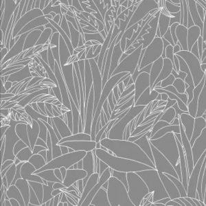 ролл-шторы с растительным принтом