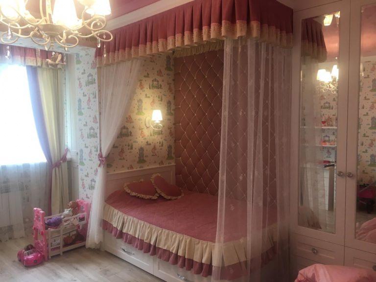 детская спальня девочки