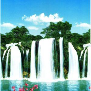 ролл шторы водопад
