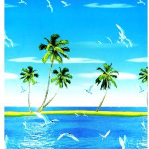 ролл шторы тропический остров