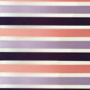 Ролл-шторы Зебра (день-ночь) Арт. SND 5005-101. Стильные ролл-шторы, с узкой полосой трех разных цветов