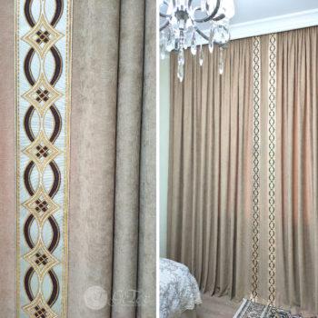 декоративные бордюры для штор