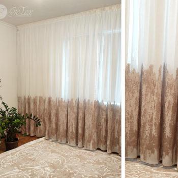 ролл-шторы+тюль
