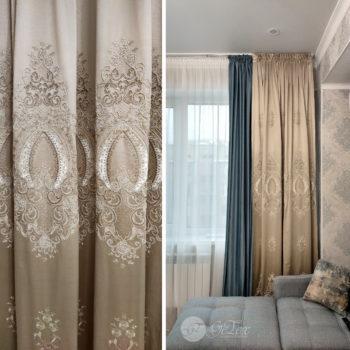 велюровые шторы