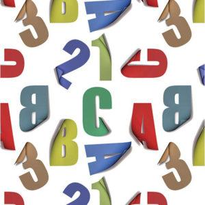 Ролл-шторы детские Алфавит