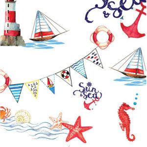 ролл-шторы детские кораблики